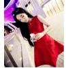 TE9297ZYWL Irregular hem sleeveless slim dress
