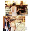 TE9835MSJ Bohemia style backless beach maxi dress