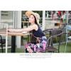 TE9841MSJ Bohemia print sleeveless beach maxi dress