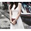 TE0290MQ Fashion OL temperament slim formal dress