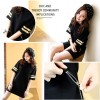 TE1647MZY Korean fashion loose half sleeve T-shirt dress