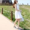 TE4035SDSX Korean fashion fresh casual sleeveless dress