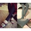 TE776QMZ Korean fashion slim step on foot leggings