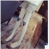 TE8244MN Korean fashion lovely cat print stockings