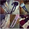TE8244MN Korean fashion lovely cat print stockings