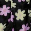 TE9028MH Summer fashion lace splicing chiffon short sleeve shirt with print skirt