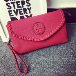 PBB8479 Korean fashion simple weave clutch bag