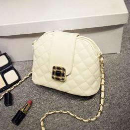 PBB8480 Elegant new style chains plum blossom button shell messenger bag