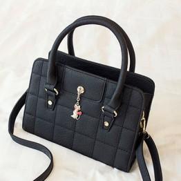 PBB8490 Europe fashion vintage sewing thread OL stone pattern handbag