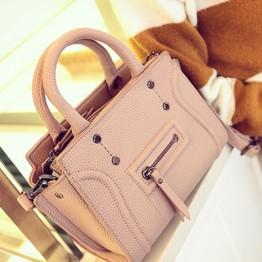 PBB8491 New style smile face fashion rivet simple handbag