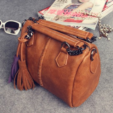 PBB8494 New style vintage tassel chains simple messenger bag