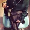 PBB8495 New style vintage tassel simple joker messenger bag