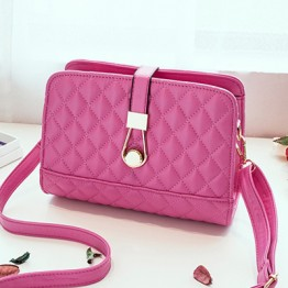 PBB8501 Europe fashion lattice pattern elegant messenger bag