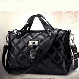 PBB8502 Europe fashion lattice pattern elegant handbag