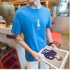 TE1629DYK Summer teenager simple casual rocket pattern t-shirt