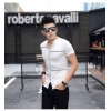 TE3708KDF Korean fashion mens stand collar t-shirt