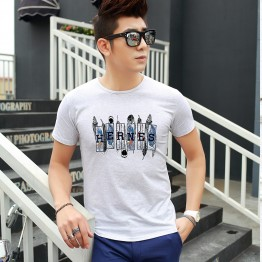 TE5808JXS Japanese fashion letters print mens t-shirt