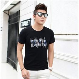 TE5808JXS Japanese fashion letters print mens t-shirt