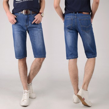 TE9002ZSS Summer new style think half long mens jeans