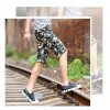 TE702LDZ Summer camouflage casual beach fifth pants