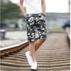 TE702LDZ Summer camouflage casual beach fifth pants