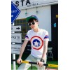 TET318WLHY Hot sale captain America short sleeve men t-shirt