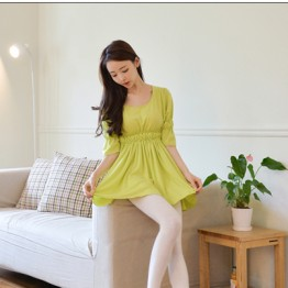 TE9797WJYS Korean style temperament slim waist comfortable dress