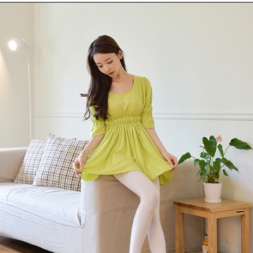 TE9797WJYS Korean style temperament slim waist comfortable dress