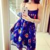 TE1078YYG Sexy shivering gallus dress