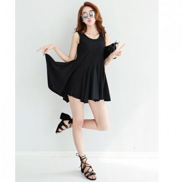 TE9926WJYS Bouffant slim temperament dress