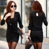 TE1369GJWL Korean fashion casual temperament dress with inner vest