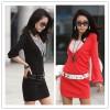 TE1370GJWL Korean fashion casual temperament belt dress