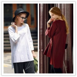 TE1388GJWL Euramerican fashion casual loose shirt
