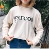 TE1016XXB Autumn fashion letters print long sleeve sweatshirt