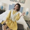 TE1098YHFS Korean fashion autumn dress with knitting vest