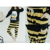 TE1514GJWL Casual comfortable joker stripes harem pants