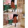 TE1518GJWL New style Korean fashion irregular wide hem skirt