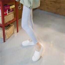 TE6222MDFS Spandex modal elastic waist leggings