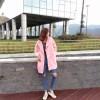 TE8527ZYKJ Fashion long thicken woolen coat