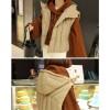 TE1541GJWL Winter fashion loose trumpet sleeve joker short hoodies