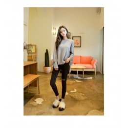 TE1548GJWL Irregular comfortable casual sweater