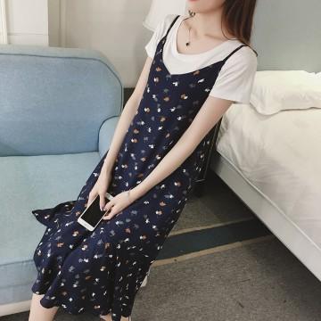 TE1803BNYR Gallus shivering dress
