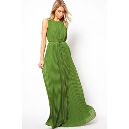 TE7092WYZ Euramerica bouffant maxi dress