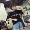 TE536XGM Harajuku style student letters print short sleeve t-shirt