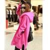 TE3352XLZ Europe fashion irregular forked tail plus size hoodie