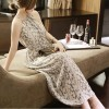 TE5255HM Bohemia fashion off shoulder sexy print halter maxi dress