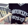 TE5269PPFS Sports fashion contact color v-neck letter print t-shirt