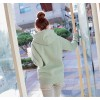 TE6383DLL Autumn fashion simple pure color hoodie