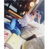 TE9385YBF Batwing sleeve flouncing drape sleeve white shirt