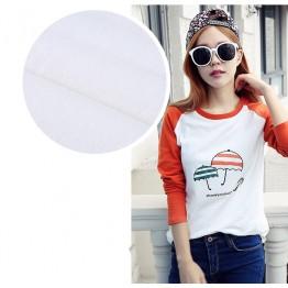 TE1517TGFS Fashion umbrella print color matching t-shirt